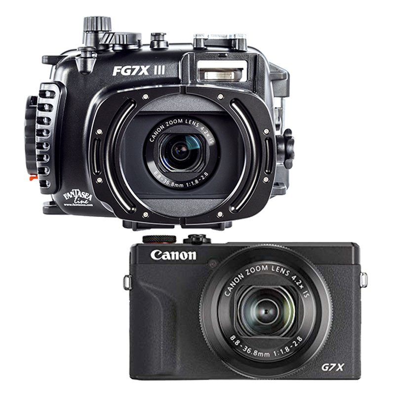 FANTASEA SET DE CAMARA Y HOUSING CANON G7X MARK III